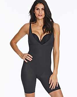 Maidenform Wear Your Own Bra Take Inches Off Black Singlet
