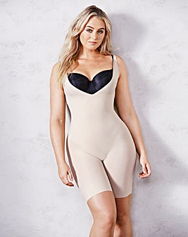 Maidenform Wear Your Own Bra Take Inches Off Latte Singlet