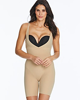 Maidenform Take Inches Off Latte Singlet