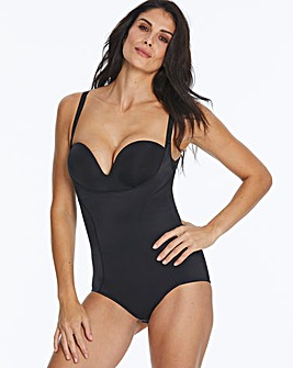 Maidenform Wear Your Own Bra Black BodyBriefer
