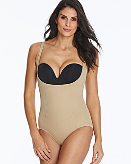Maidenform Wear Your Own Bra Beige BodyBriefer