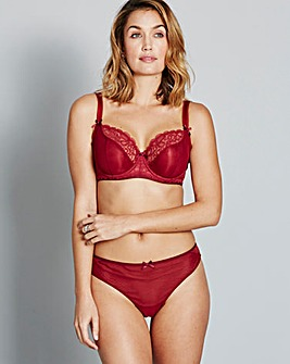 Curvy Kate Ellace Crimson Balcony Bra