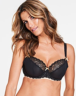 Curvy Kate Ellace Blk/Champ Balcony Bra