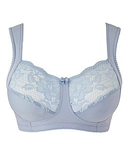 Miss Mary Cotton and Lace Blue Bra
