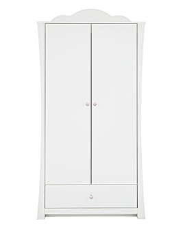 Princess White Wardrobe