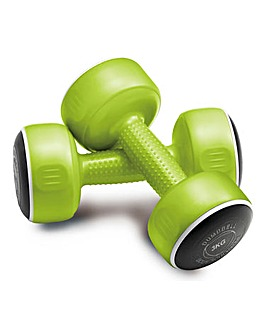 Bodysculpture Set of 2 x 3kg Dumbbells