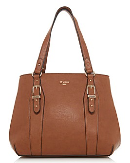 Medium buckle detail tote