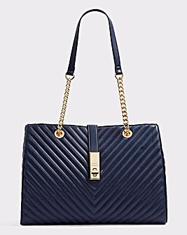 Aldo Guilted Shopper Bag