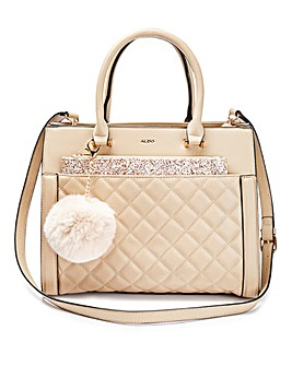 Aldo Quilted Tote Bag