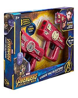 Avengers Infinity War Laser Tag Blasters