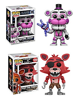 POP! Figure 2pk - Freddy & Foxy