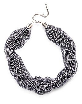 Seedbead Layered Necklace