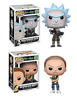 POP! Figure 2pk - Rick & Morty