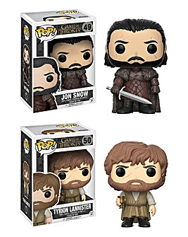 POP! Figure 2pk - Jon Snow & Tyrion