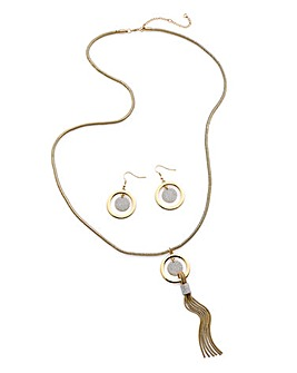 Joanna Hope Necklace And Earrings Set