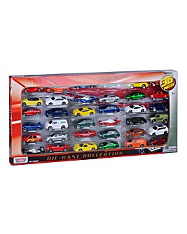 36pc 3in Die Cast Vehicle Set