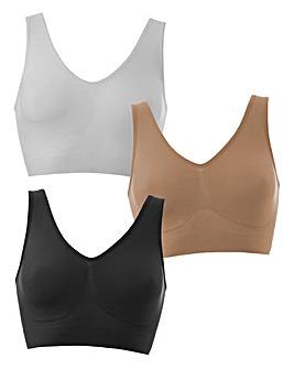 Naturally Close 3Pack Multi Comfort Tops