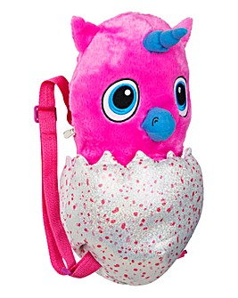 Hatchimals Plush Backpack Owlicorn