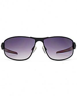 FCUK Metal Sports Wrap Sunglasses