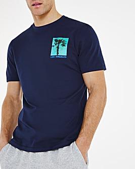 LA Graphic T-shirt Long