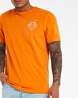 Sunrise Graphic T-shirt Long