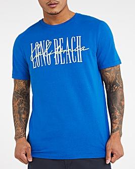 Long Beach Graphic T-shirt Long