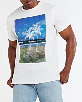 Beach Graphic T-shirt Long