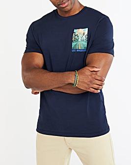 Los Angeles Graphic T-shirt Long