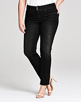 Salsa Push In High Waist Slim Leg Jeans