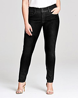 Salsa Push In High Waist Skinny Leg Jeans