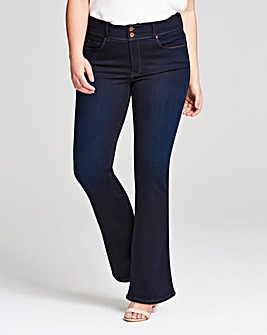 Salsa Push In High Waist Bootleg Jeans