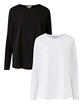 Capsule Leisure 2 Pack Long Sleeve Tee