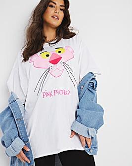Pink Panther Glitter Boyfriend Tee