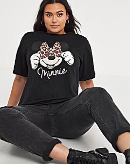 Minnie Animal Turnback Tee
