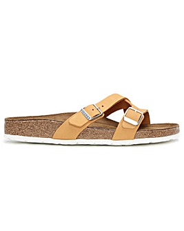 Birkenstock Yao Balance II Nubuck Leather Cross Strap Mules