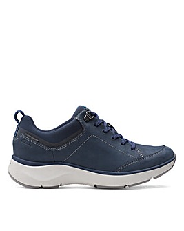 Clarks Unstructured Wave2.0 Lace. Standard Fitting Shoes