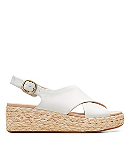 Clarks Unstructured Kimmei Cross Standard Fitting Sandals
