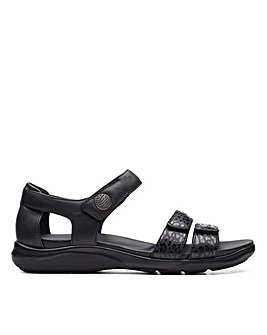 Clarks Unstructured Kylyn Strap Standard Fitting Sandals