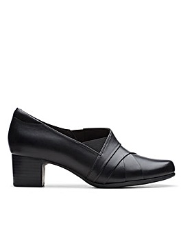 Clarks Unstructured Un DamsonAdele Standard Fitting Shoes