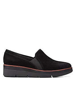 Clarks Unstructured Shaylin Ave Standard Fitting Shoes