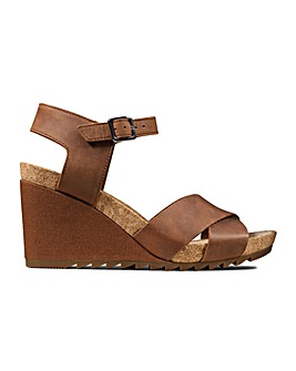 Clarks Flex Sun Standard Fitting Sandals