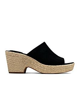 Clarks Maritsa Mule Standard Fitting Sandals