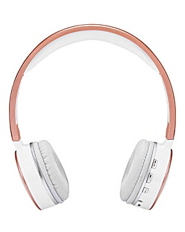 JDW Bluetooth Headphones Rose Gold