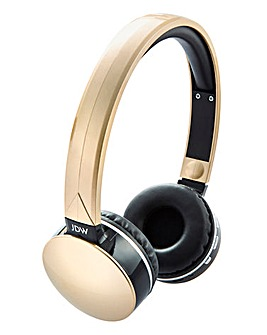 JDW Bluetooth Headphones Gold