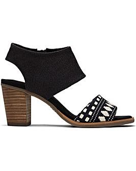 Toms Majorca Cutout Woven Sandal