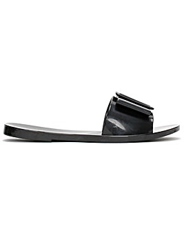 Melissa Babe Bow Buckle Sliders Standard Fit