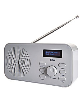 JDW DAB Radio Grey