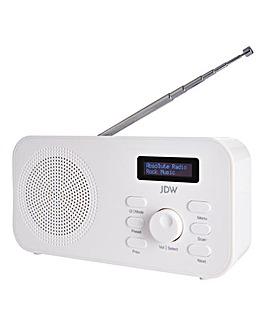 JDW DAB Radio White