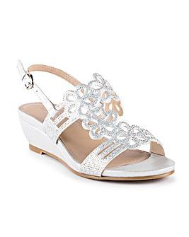 Paradox London Yvette Wedge Sandals