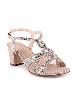 Paradox London Nadia Wide Fit Sandals
